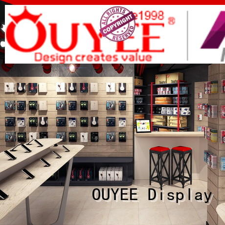 top brand mobile repairing counter design showcase supplier for decoration