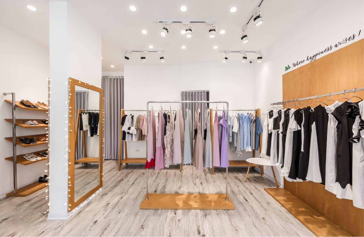 Retail Ladies Garment Shop Interior Design OY-GSD019-2