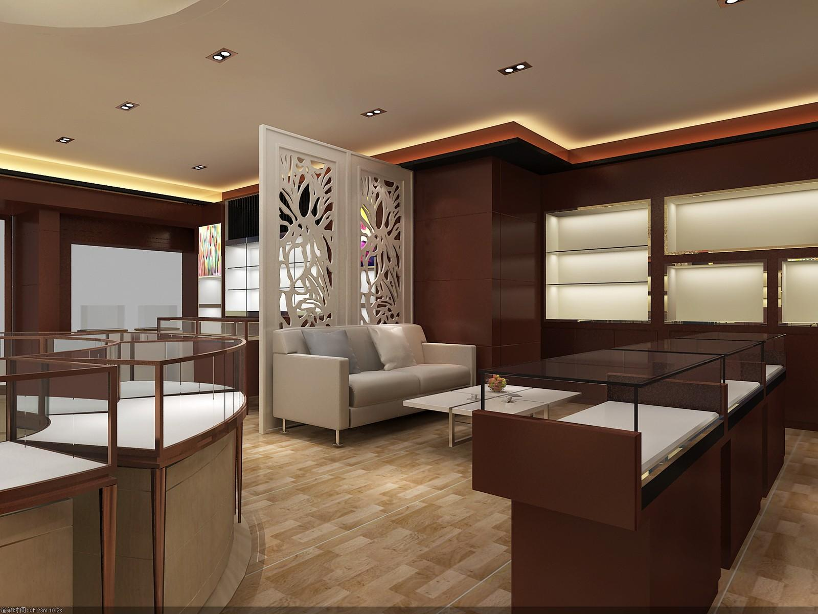 OUYEE chic style latest jewellery showroom design OEM for shop-3