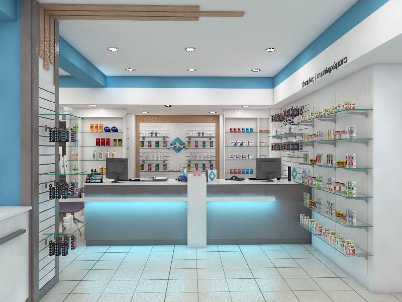 OUYEE durable retail pharmacy design modern for store-3
