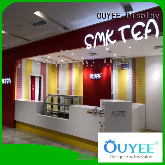 OUYEE best design interior design ideas for cafe shop modern for restaurant