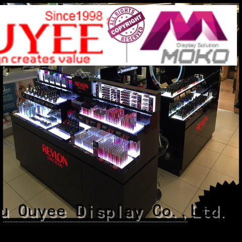 makeup retail display units kiosk Warranty OUYEE