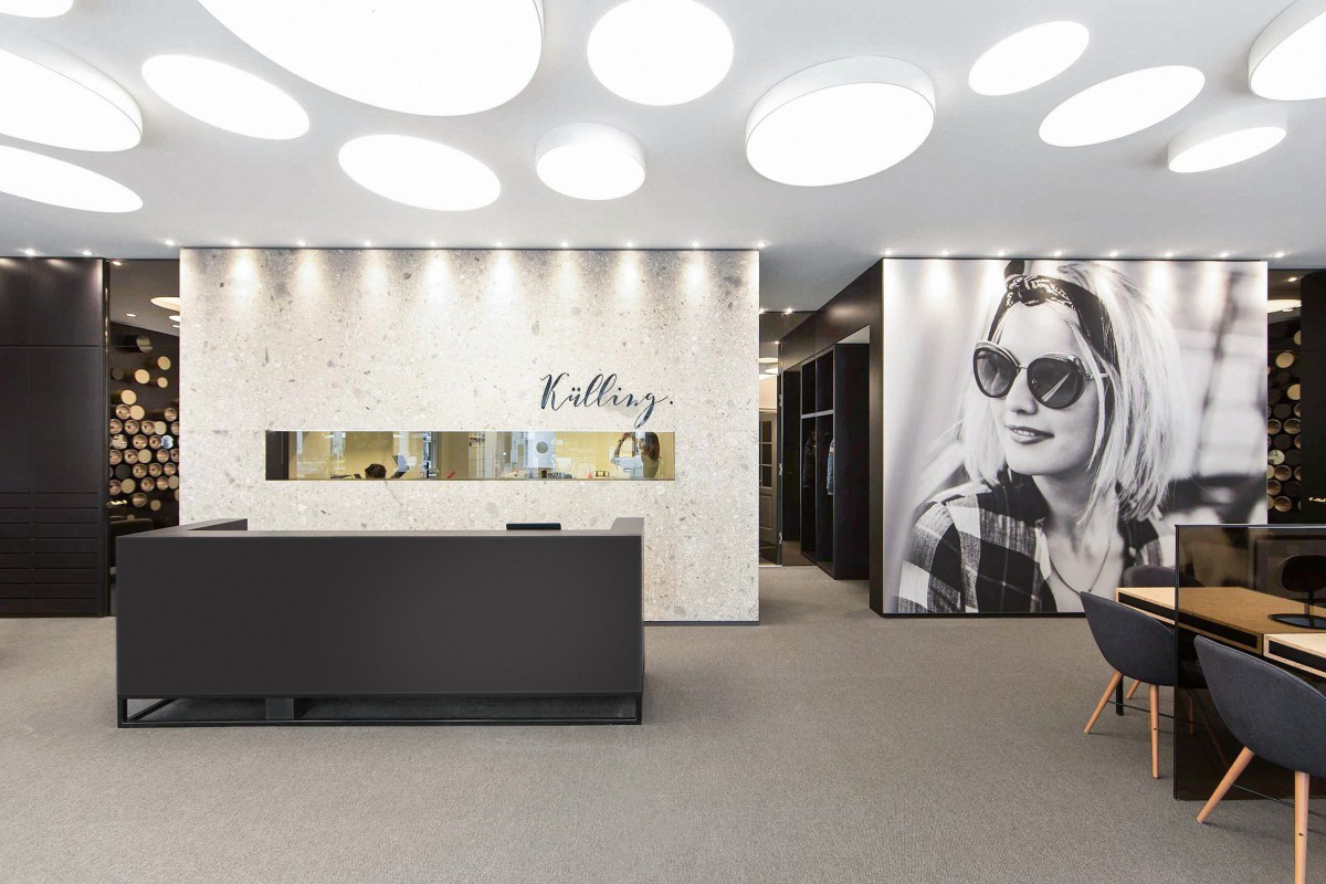 OUYEE top brand optical shop interior design at discount for store-5