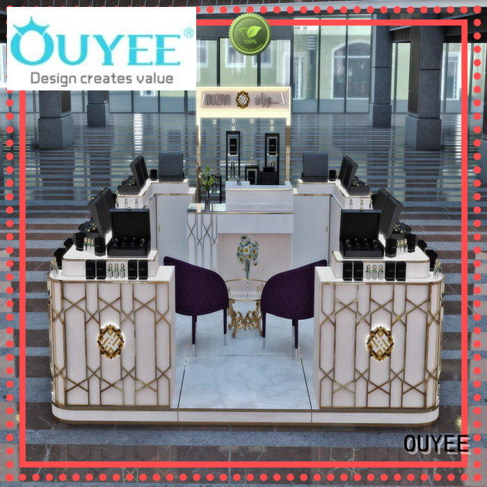 OUYEE high-quality perfume counter bulk production for supermarket