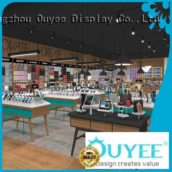 Wholesale furniture counter electronic shop display OUYEE Brand