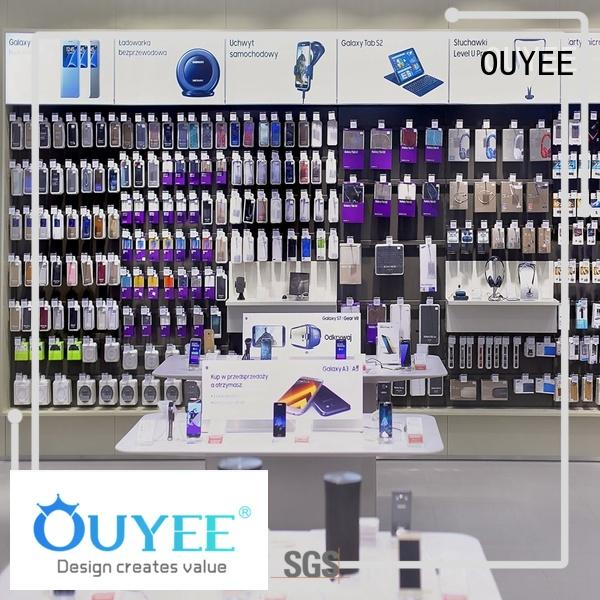 OUYEE Brand furniture shop ideas electronic shop display
