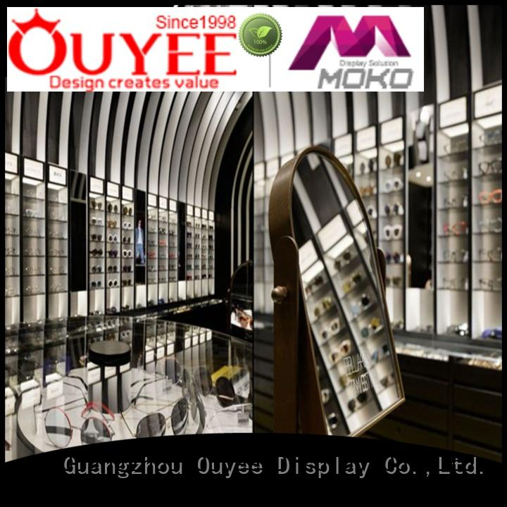 sunglasses sale showcase optical displays OUYEE