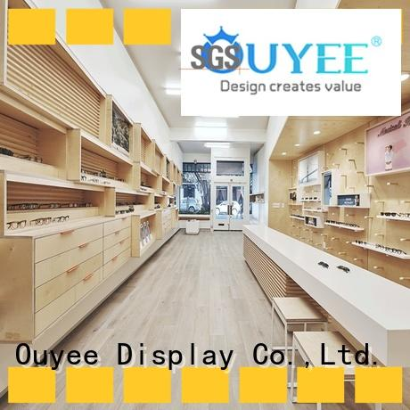 wooden frame displays for eyeglasses for wholesale for supplier OUYEE
