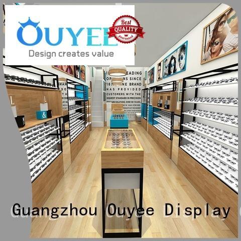 counter glass eyeglasses eyeglass display stand OUYEE Brand