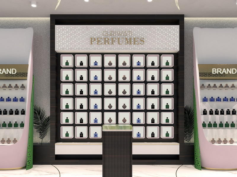 Shop Furniture Perfume Display OY-PFD003