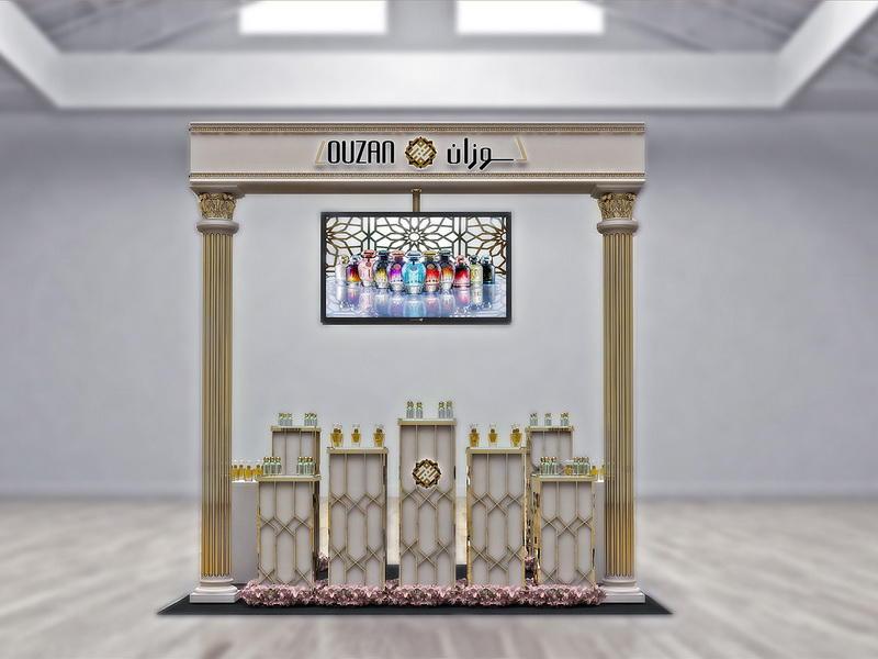 Perfume Kiosk Display Perfume Cabinet OY-PFD005