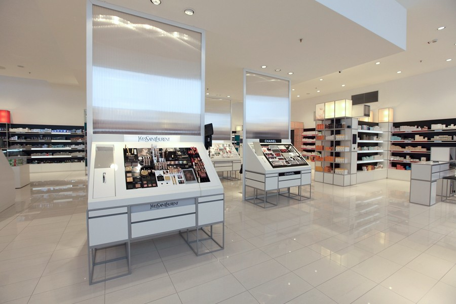 durable perfume shop design custom for supermarket OUYEE-4