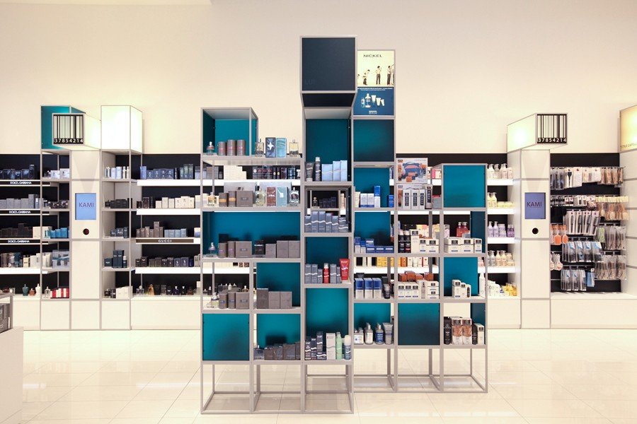 durable perfume shop design custom for supermarket OUYEE-5