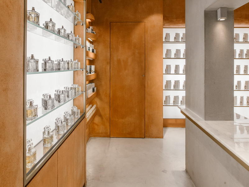 Shop Interior Design Perfume Display Cabinet OY-PFD010