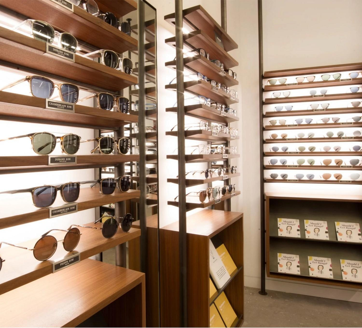 popular eyewear display stand highly-rated for chain shop