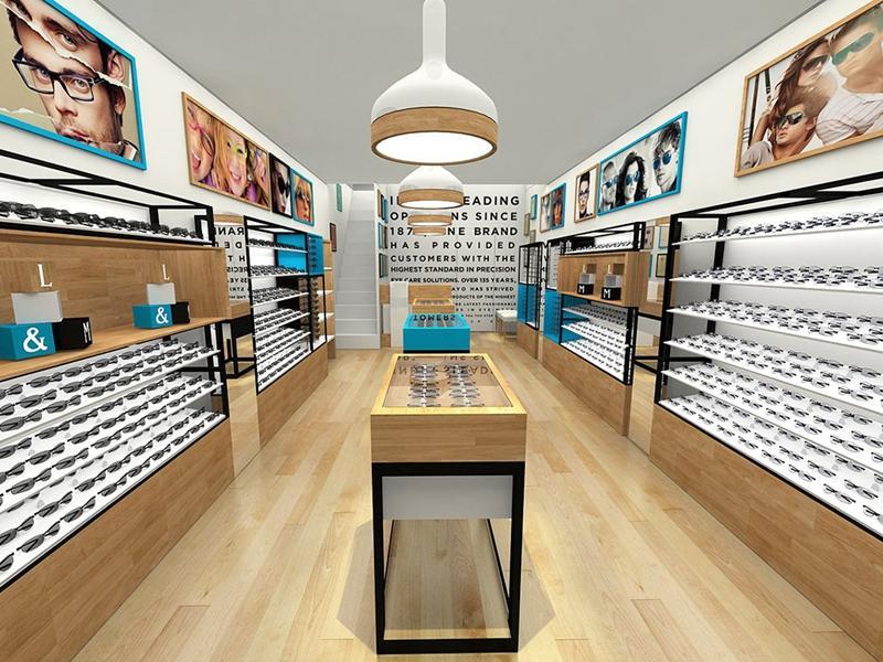 Optical Store Design OY-OSD012