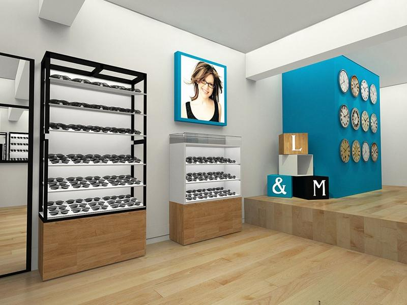 Optical Store Design OY-OSD012
