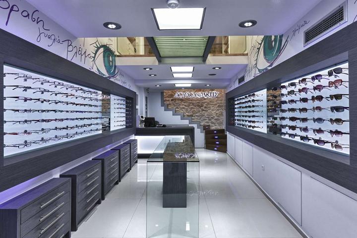 wooden eyewear cabinet top brand OUYEE-6