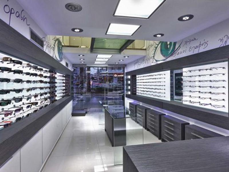 wooden eyewear cabinet top brand OUYEE-7