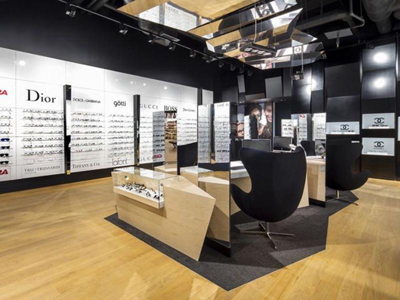 Optical Shop Display Glasses Showcase OY-OSD005