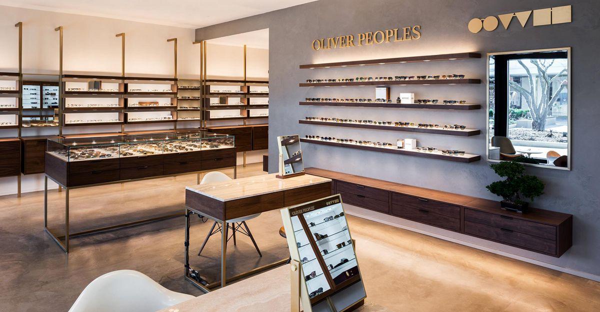 popularoptical frame displays wooden at discount for shop-5