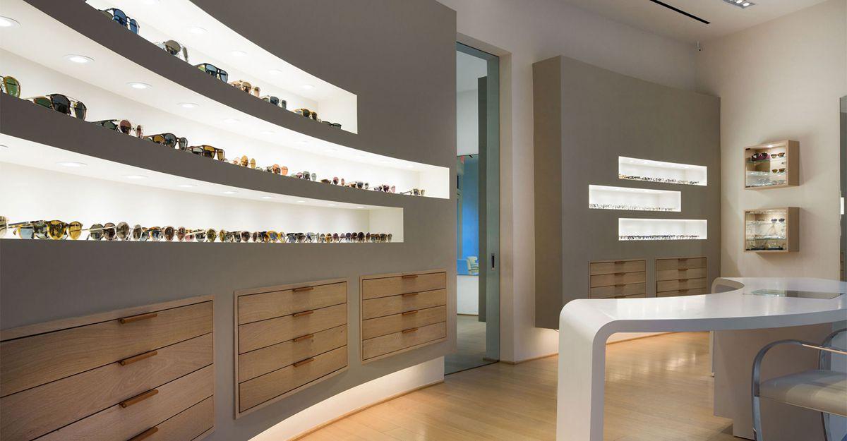 popularoptical frame displays wooden at discount for shop-4