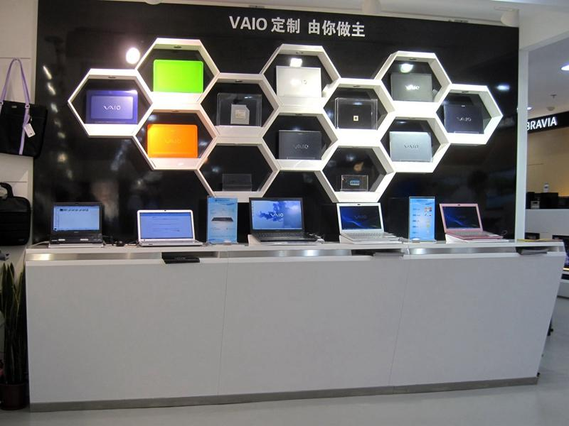 Mobile Shop Counter Table Design OY-MSD002