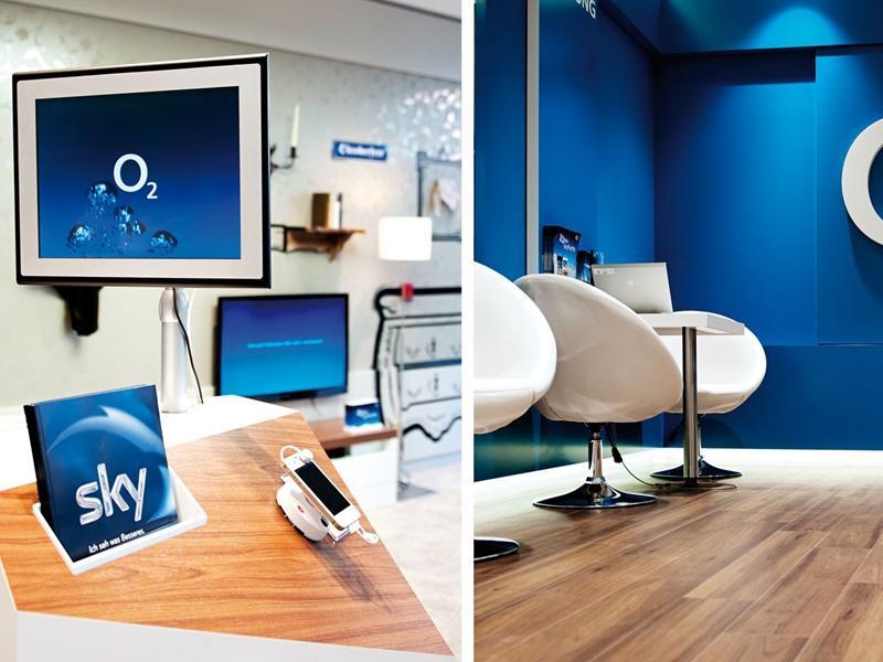 Computer Shop Counter Design OY-MSD006
