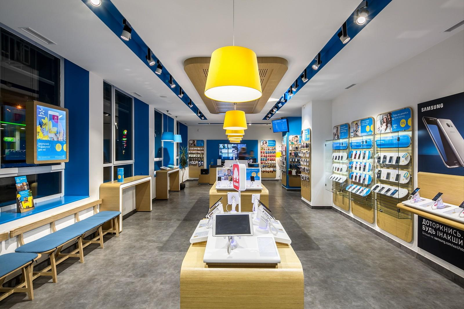 wooden mobile phone shop design fast installation for decoration OUYEE