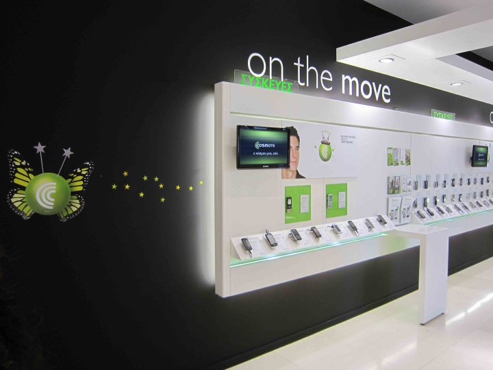 OUYEE top selling cell phone store fixtures displays showcase for decoration-4