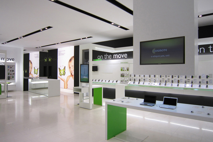 OUYEE top selling cell phone store fixtures displays showcase for decoration-6