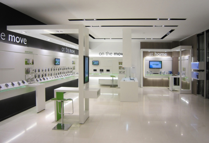 OUYEE top selling cell phone store fixtures displays showcase for decoration-5