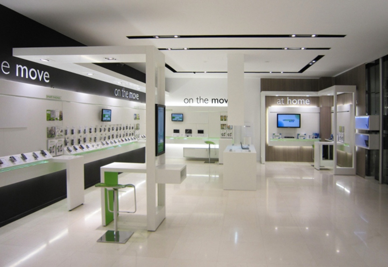 OUYEE top selling cell phone store fixtures displays showcase for decoration-7