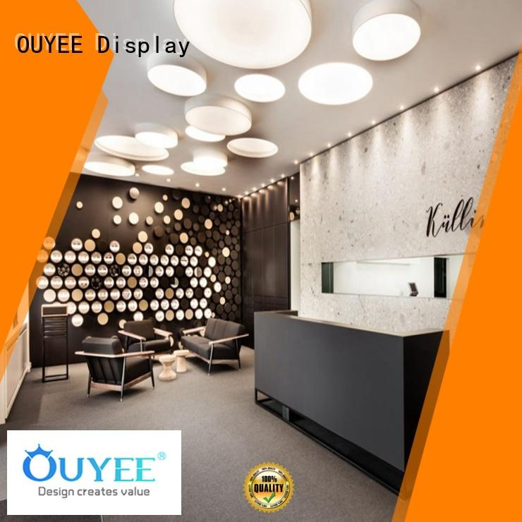 OUYEE wooden fixtures for stores for chain shop