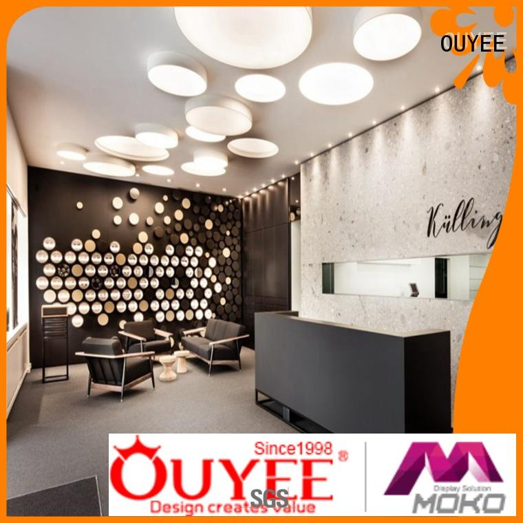 OUYEE top brand optical shop interior design at discount for store