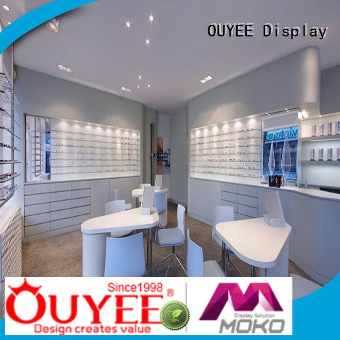 Wholesale rack eyeglass display stand showcase OUYEE Brand