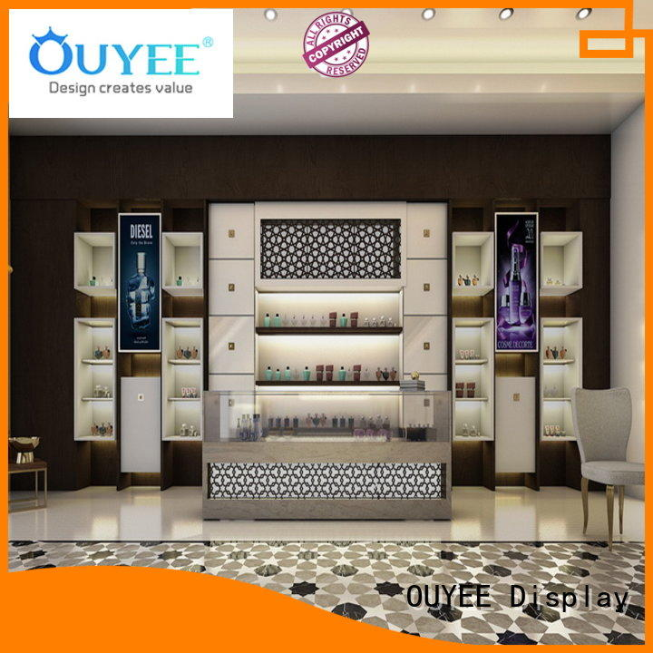 chic design perfume kiosk design durable by bulk for store