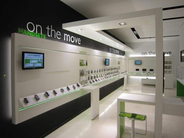 OUYEE top selling cell phone store fixtures displays showcase for decoration-2