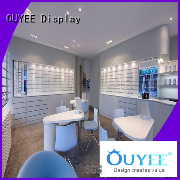 OUYEE custom sunglass display stand top brand for supplier