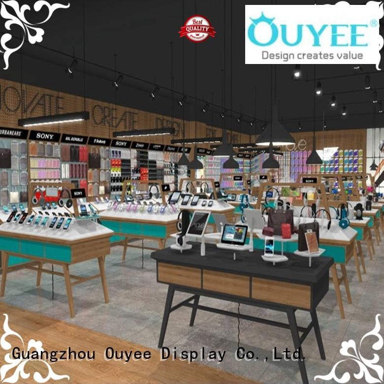 accessories design furniture OUYEE Brand electronic shop display
