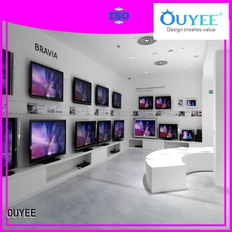 mobile phone shop display showcase for electronics OUYEE