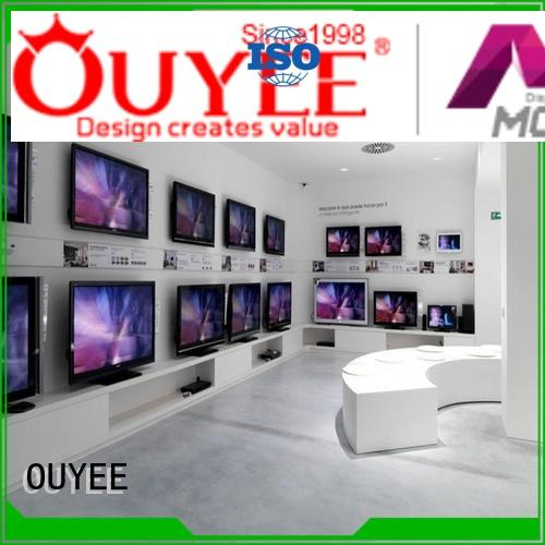 mobile shop counter plywood for electronics OUYEE