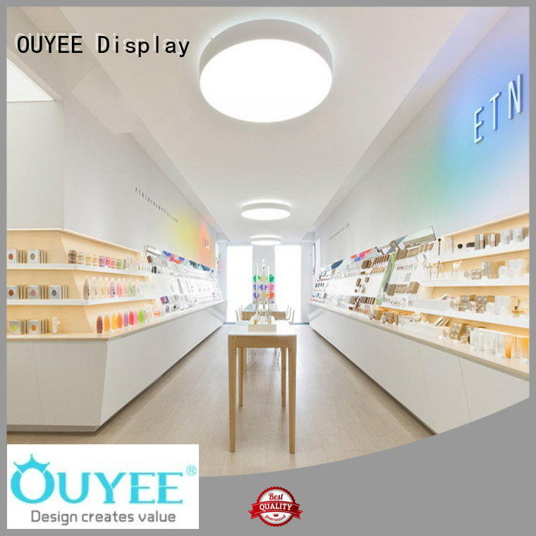 OUYEE funky style shop counter design images bulk production for store