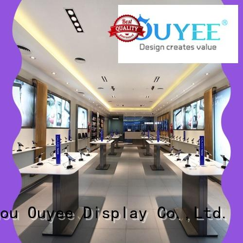OUYEE mobile shop interior design fast delivery for store