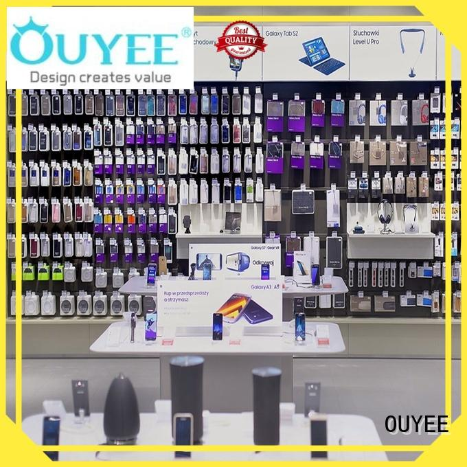 phone plywood repair showcase phone repair kiosk OUYEE Brand