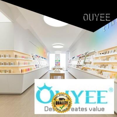essence perfume stand rack shelf OUYEE company