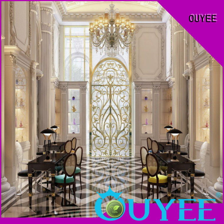 OUYEE high-quality perfume collection display at discount for decoration