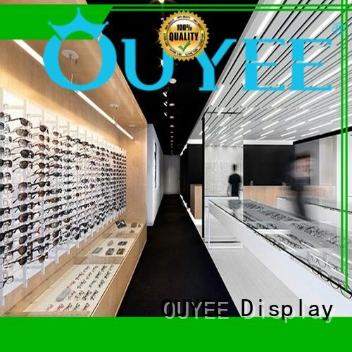 eyeglass cabinet top brand for store OUYEE