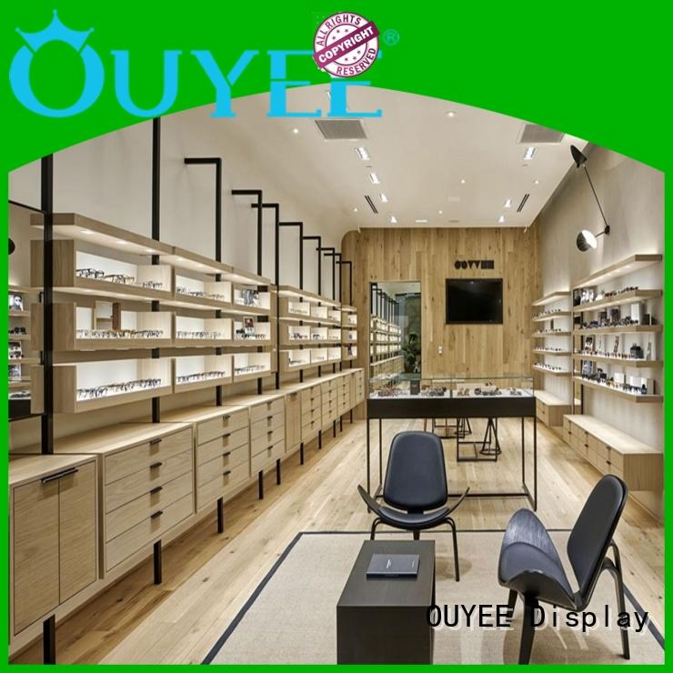 OUYEE custom glass display stand supplier for shop