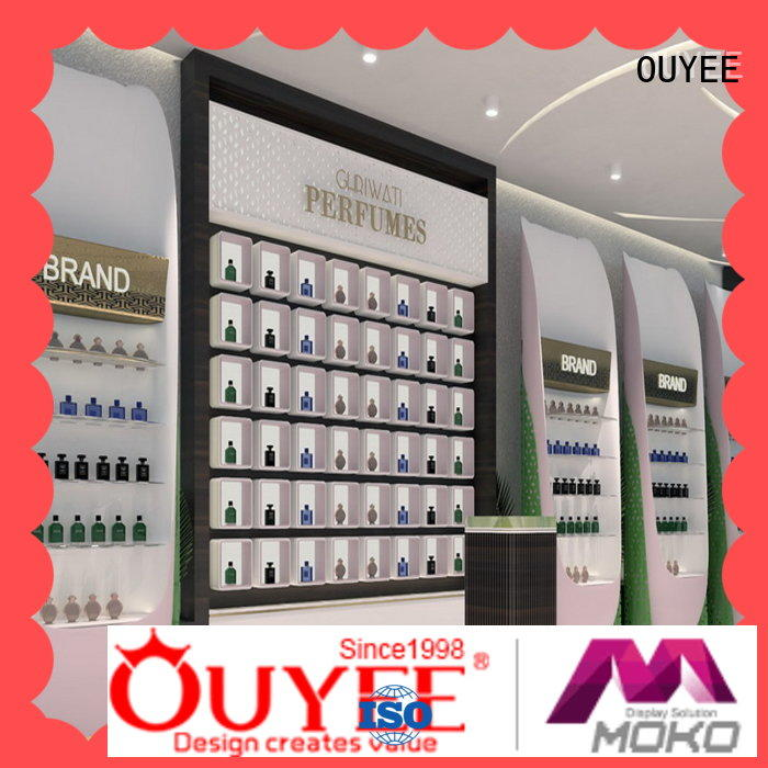 OUYEE durable perfume table display by bulk for decoration